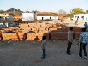Foundation of the Market Place or Hatt approved by the Gram Sabha