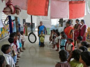 When Mothers Committees are active the Anganwadi Centers perform better